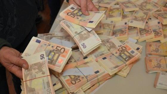 50 € - banconote false sequestrate dalla polizia