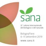 SANA 2019 Salone internazionale el biologico e del naturale